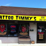 Outside Tattoo Timmy's