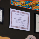 Some certs