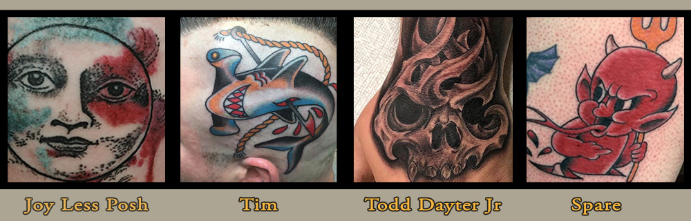 Tattoo Timmy's - Joy Less Posh, Tim Adams, Todd Dayter, Spare
